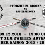 Pforzheim Bisons vs. ESG Esslingen