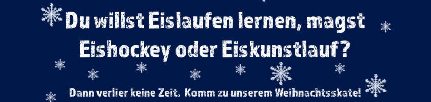 Weihnachtsskate Flyer