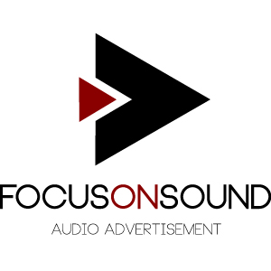 focusonsound audio advertisement Logo