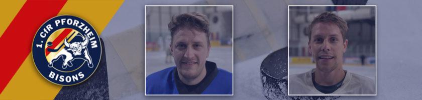 Zwei neue Spieler für die Bisons