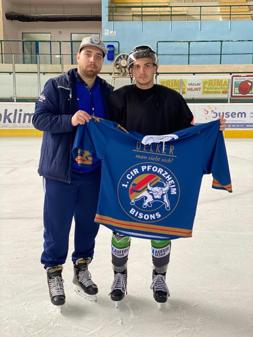 Miroslav Vasilev wird ein Bison
