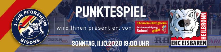 Bisons vs EHC Eisbären Heilbronn